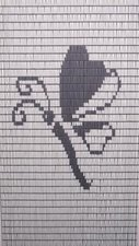 Vliegengordijn libelle hulzen 90x210cm