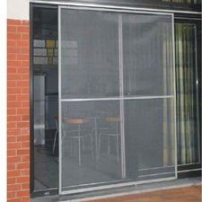 Schuifpui hor / Veranda hordeur grijs (150x220cm max)