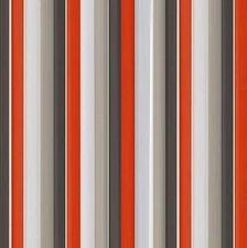 Vliegengordijn plastic lamellen wit/grijs/rood 90x220cm