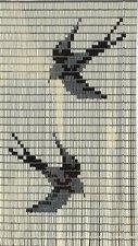 Vliegengordijn vogels creme 90x210cm