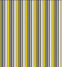 Vliegengordijn plastic lamellen grijs/wit/geel 90x220cm