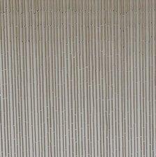 Bamboe vliegengordijn taupe-grijs 90x200cm