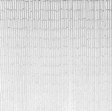 Bamboe vliegengordijn wit 90x200cm