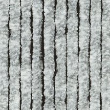 Vliegengordijn kattenstaart 100x240cm (grijs/wit)