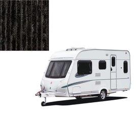 Vliegengordijn caravan zwart 56x180cm