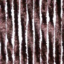 Vliegengordijn twisted plush bruin 90x205cm