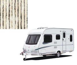 Vliegengordijn caravan beige/wit 56x180cm