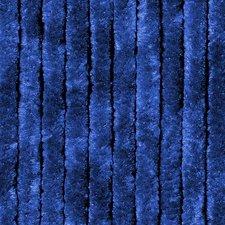 Vliegengordijn kattenstaart 100x240cm (donkerblauw)
