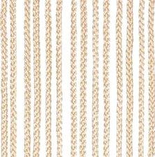 Vliegengordijn touwen ivoor 90x200cm
