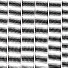 Vliegengordijn kunststof zwart 90x220cm