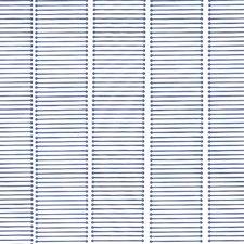 Vliegengordijn kunststof blauw 90x220cm