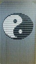 Vliegengordijn op maat: yin yang