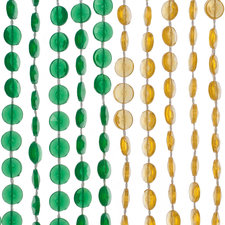 Kralengordijn diamonds gekleurd 90x200cm (136 strengen)