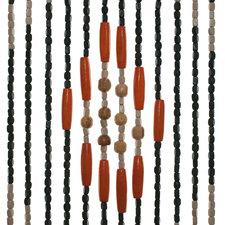 Kralengordijn hout 90x200cm (52 strengen)