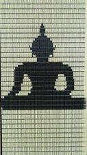 Vliegengordijn op maat: boeddha zittend