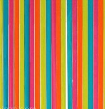Vliegengordijn plastic lamellen roze/blauw 90x220cm
