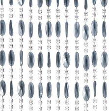 Kralengordijn Charlotte 100x240cm grijs (88 strengen)