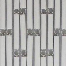 Vliegengordijn op maat: hulzen verspringen wit