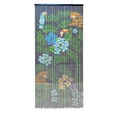 Vliegengordijn Kitsch Kitchen bamboe tropical 90x200cm