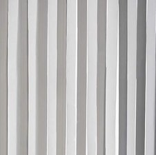 Vliegengordijn plastic lamellen grijs/wit 90x220cm