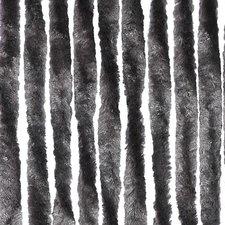 Vliegengordijn twisted plush grijs 90x205cm
