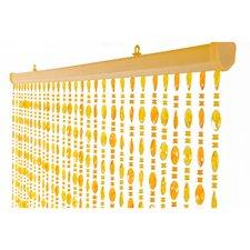 Kralengordijn parels honing 90x200cm (30 strengen)