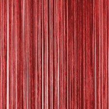 Draadjesgordijn donkerrood 90x200cm