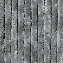Vliegengordijn kattenstaart 90x220cm mét opbergtas (grijs)