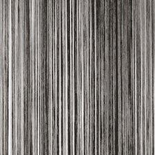 Draadjesgordijn zwart 100x250cm