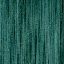 Draadjesgordijn pauw groen 100x250cm