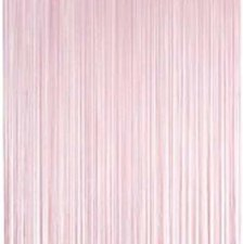 Draadjesgordijn lichtroze 90x200cm