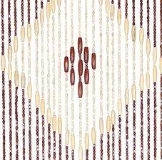 Vliegengordijn hout kralen acrapole 90x195cm