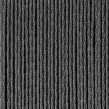 Vliegengordijn luxe Bali zwart-transparant 100x240cm