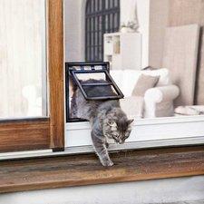 Kattenluik hordeur