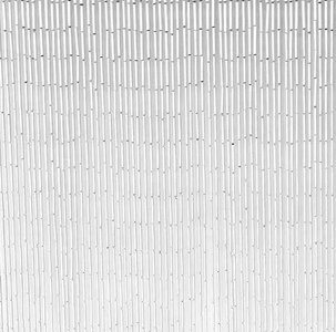 vliegengordijn wit bamboe