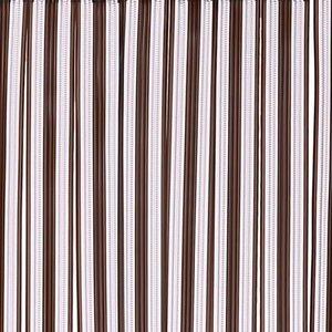 vliegengordijnen strengen bruin