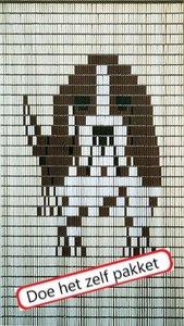 Vliegengordijn bouwpakket hond 90x210cm