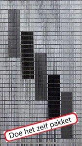 Vliegengordijn bouwpakket 5 blokken 90x210cm