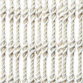 Vliegengordijn Pisa wit-zand 100x240cm