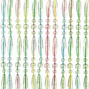 Vliegengordijn kralen recht multi color 90x210cm