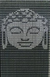 Vliegengordijn Boeddha hulzen 90x210cm