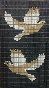 Vliegengordijn duiven 90x210cm