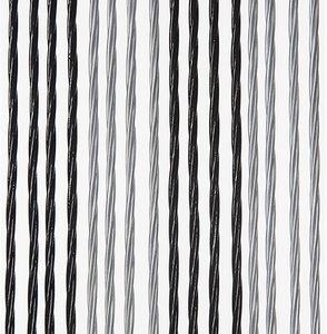 Vliegengordijn Victoria 100x240cm (zilver-zwart)