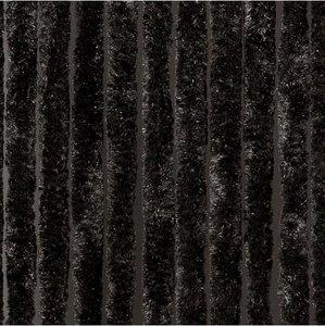 vliegengordijn kattenstaart zwart