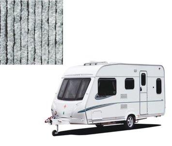 Vliegengordijn caravan grijs/wit 56x180cm