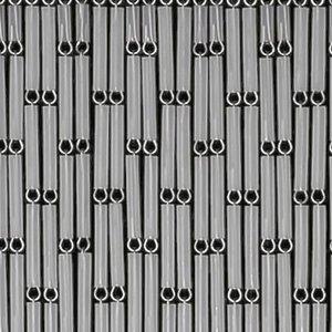 Vliegengordijn hulzen transparant 100x240cm