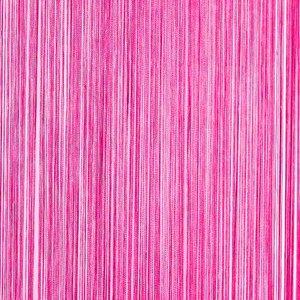 draadjesgordijn fuchsia roze